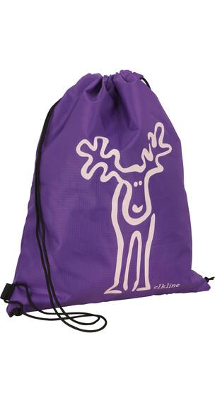 Elkline Büdel Gym Bag Unisex darkviolet - rosy